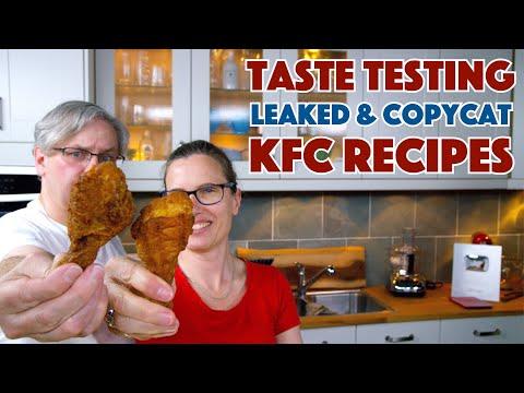 Taste Testing KFC Copycat Recipes - Episode #3