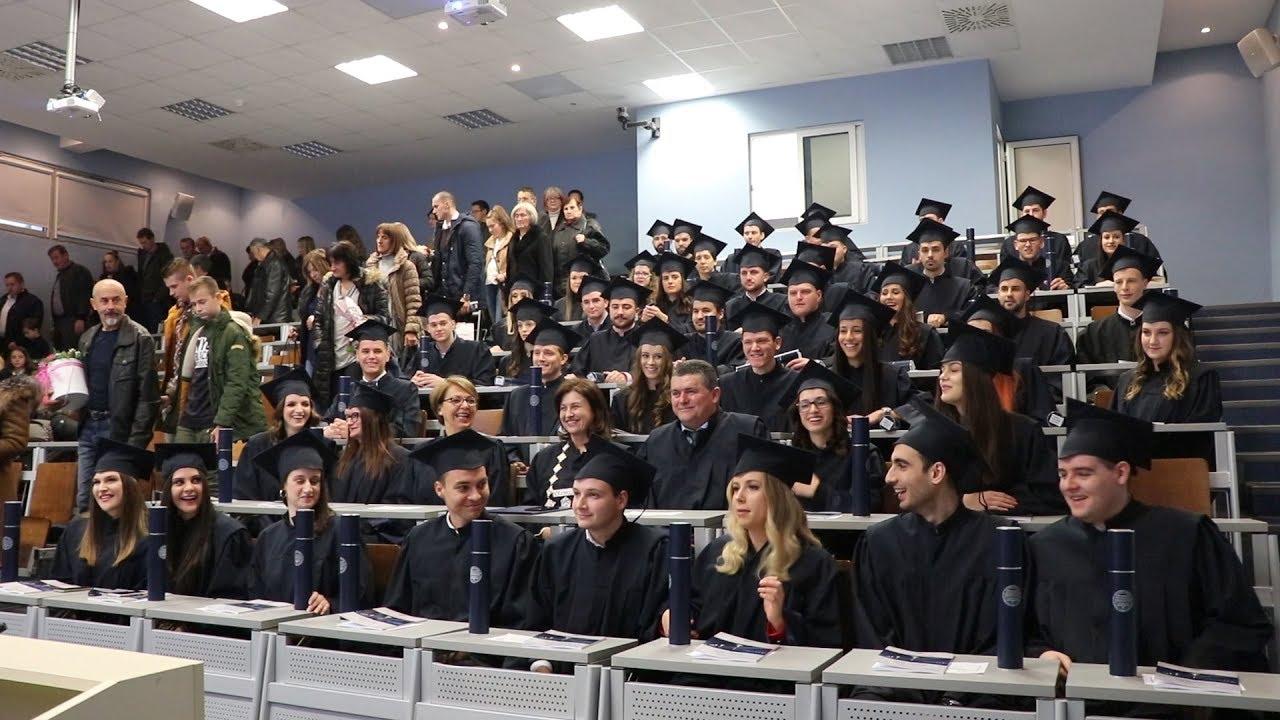 Svečano promovirano 98 diplomanata Građevinskog fakulteta