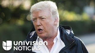 """Trump: """"Han echado a perder nuestro presupuesto, hemos gastado demasiado dinero en Puerto Rico"""""""