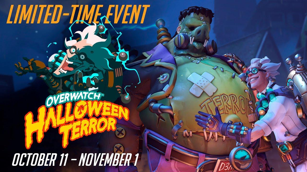 NEW SEASONAL EVENT] Welcome to Overwatch Halloween Terror!   Rebrn.com