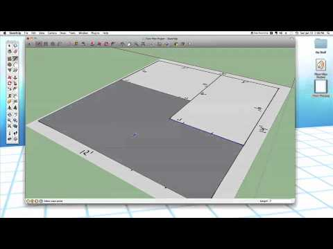 sketchup - Learn how to scan a hand drawn floor plan into Sketchup and use it as a guide for modeling 3D rooms.