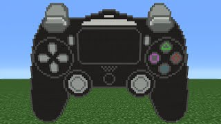Minecraft Tutorial: How To Make A PS4 Controller