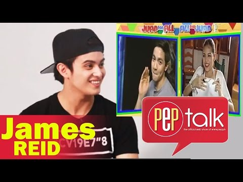 "PEP TALK. James Reid Discovers ""Bahala Na"" Is Used By AlDub: ""That's Cool!"""