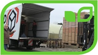 Loading Packs with Lubera Plants for the UK