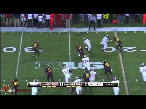 Dan Voltz vs Minnesota 2013 video.