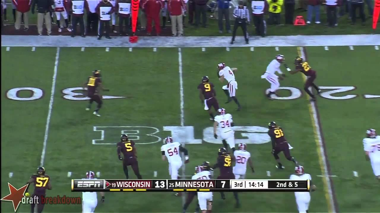 Ryan Groy vs Minnesota (2013)