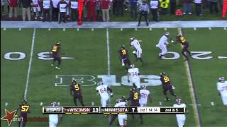 Ryan Groy vs Minnesota (2013)