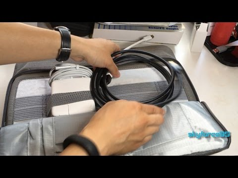 Tomtoc 13in Macbook Pro Retina/Air Laptop Sleeve Unboxing & Review