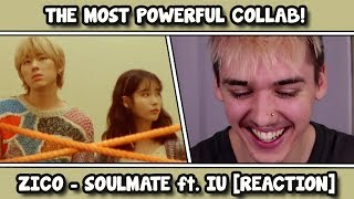 RAPPER REACTS TO 지코 (ZICO) - SoulMate (Feat. IU)