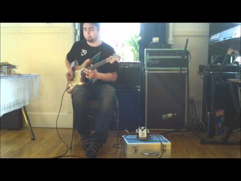 Rene Del Fierro - Freekish Blues Alpha Drive II Red Dot - Dumble Tones Video 2