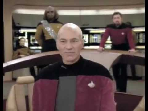 Picard owns Klingons as he asks for a favour, a cloaked vessel