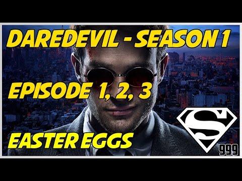 Marvel's Daredevil Season 1 Episode 1, 2, 3: Hidden Easter Eggs & Secrets