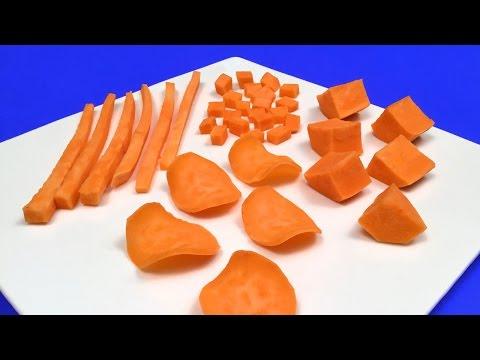 patatine chips a casa - 4 modi per tagliare uniformemente le patate