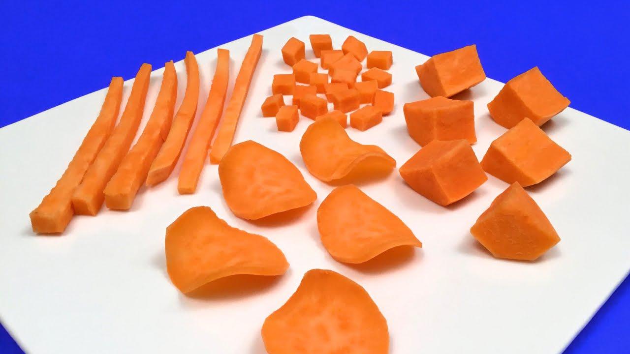 Patatine Chips a casa ★ 4 modi per tagliare uniformemente le patate