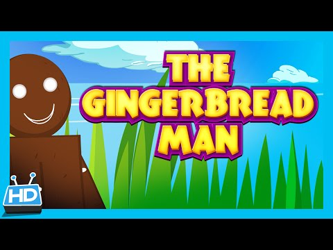 The Gingerbread Man - Bedtime Story | Animated Full Story For Kids