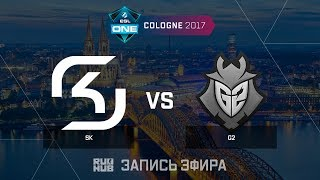 SK vs G2 - ESL One Cologne 2017 - de_inferno [ceh9 , yXo]