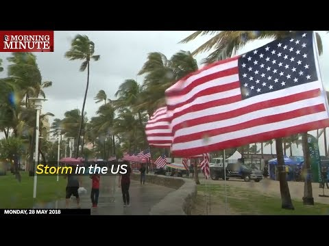 Storm in the US