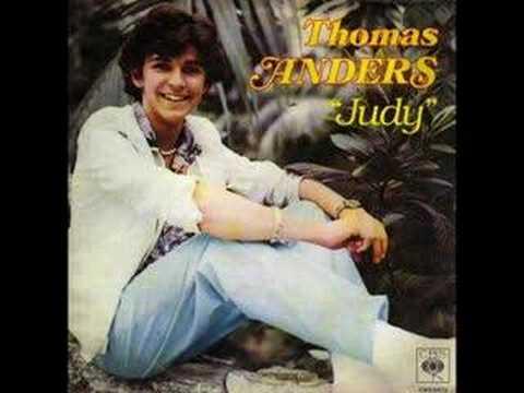 Tekst piosenki Thomas Anders - Judy po polsku