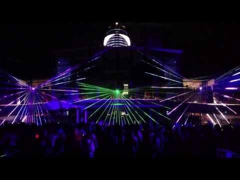 Celebrity Sihlouette Laser Deck Party