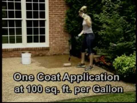 Sealing Aggregate Concrete