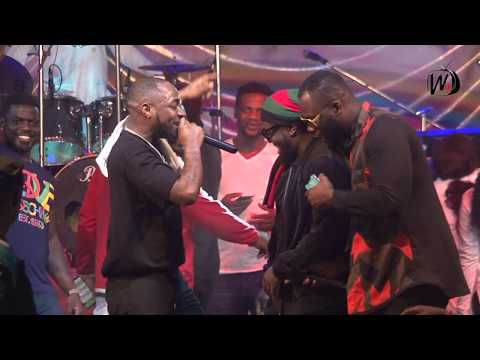 Davido And Timaya Live At Nigeria's Biggest Beach Carnival