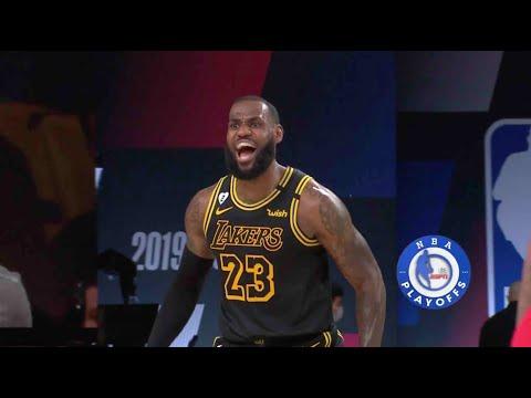 LeBron James Hits Fadeaway Dagger In Game 2 vs. Rockets