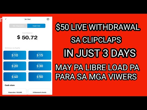 3RD LIVE CLIPCLAPS WITHDRAWAL TIPS PAANO DUMAMI ANG DIAMOND CHEST