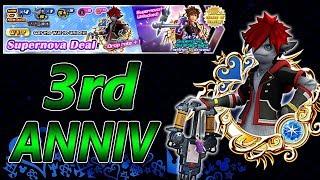 3rd Anniversary News & Monster Sora Is Back! ~ KH Union χ[Cross]