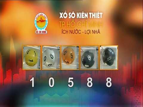 Xổ Xố Kiến Thiết TPHCM || HTV1 || 05-08-2017