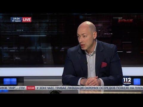 Дмитрий Гордон на \112 канале\. 7.06.2018 - DomaVideo.Ru