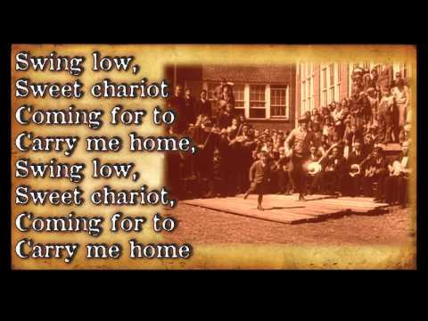 Swing Low Sweet Chariot Bluegrass Gospel Hymn With Lyrics