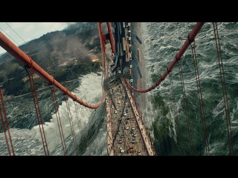 San Andreas (2015) -  Tsunami Scene - Pure Action [4K] - Thời lượng: 4:55.