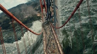 Nonton San Andreas  2015     Tsunami Scene   Pure Action  4k  Film Subtitle Indonesia Streaming Movie Download