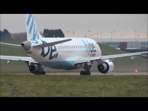 Arrivals & Departures at Birmingham Airport - 12/01/2014