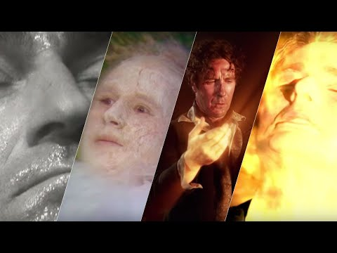 ALL The Doctor's Regenerations (1963 - 2013) | Doctor Who | BBC