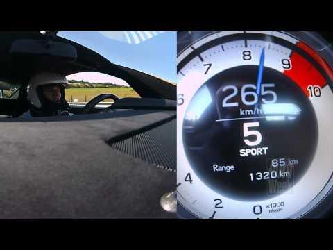 Lexus LFA Nürburgring edition track test (English subtitled)