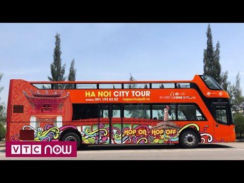 Cận cảnh xe buýt 2 tầng mui trần Hà Nội | VTC1 - Thời lượng: 110 giây.