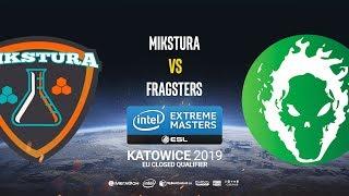 MIKSTURA vs Fragsters - IEM Katowice EU Minor QA - map2 - de_nuke [Gromjkee]