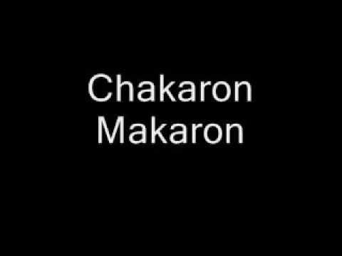 Chacaron Macaron song