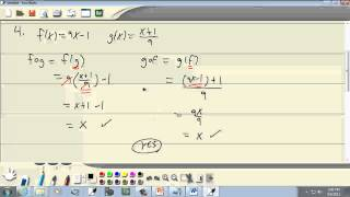 College Algebra: Inverse Functions