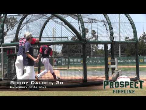 Bobby Dalbec Prospect Video, 3b, University of Arizona