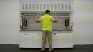 8′ Bedcolab Laboratory Fume Hood w/ Cabinets