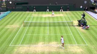 Tennis Highlights, Video - 2013 Day 8 Highlights: Sabine Lisicki v Kaia Kanepi