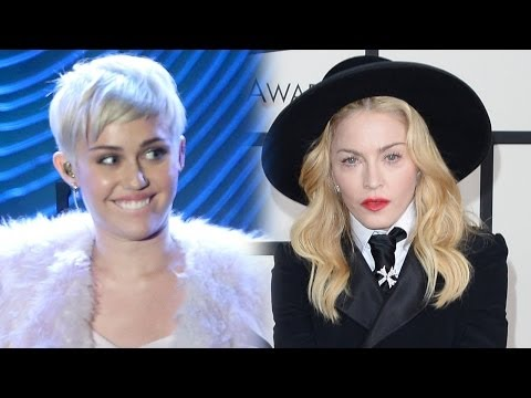 "Miley Cyrus & Madonna Strip Down in ""Unplugged"" on MTV!"