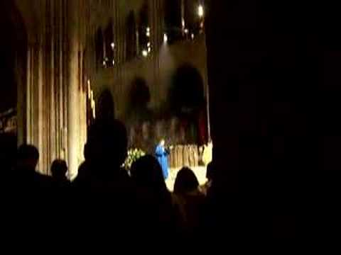 Notre Dame Cathedral Sunday Service