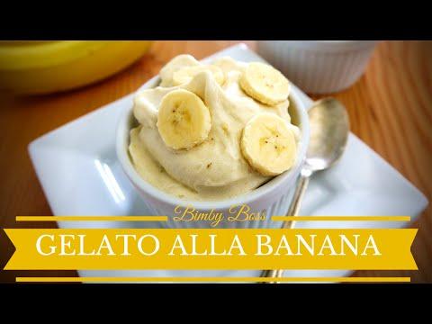 video ricetta: bimby - gelato alla banana