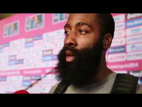 James Harden on Preparing for Serbia in the FIBA Finals