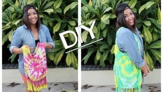 DIY -NO SEW- Turn Your Old T-shirts into Reusable Bags! - YouTube