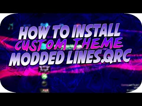 PS3 JAILBREAK How To Install Custom Lines.QRC Theme + Download Links