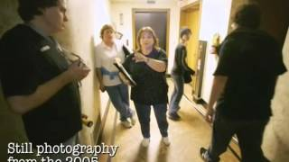 Bea Ricotta gives a tour of the tower and shares her paranormal experiences. Part 1 of 3 videos of the haunted Rockford Register Star news tower in Rockford, IL.